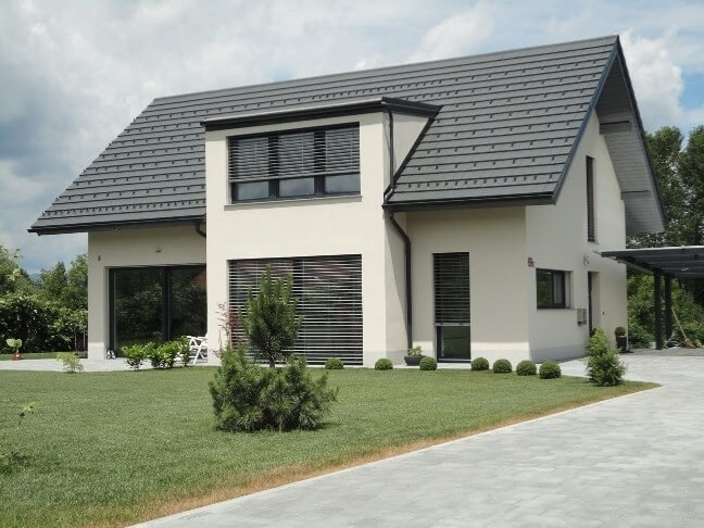 Cena hiše je odvisna od želja investitorja.