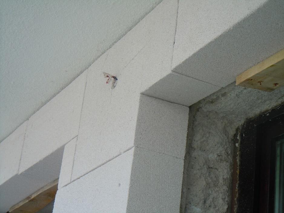 Foto 6: Vgradnja plošč Multipor okoli okna