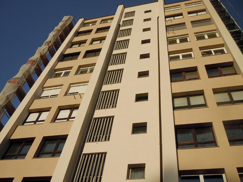 Foto 10: Dokončana vzhodna fasada