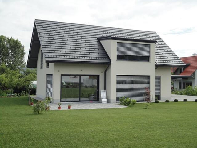 Pasivna hiša družine Hodnik, zgrajena iz Ytonga.