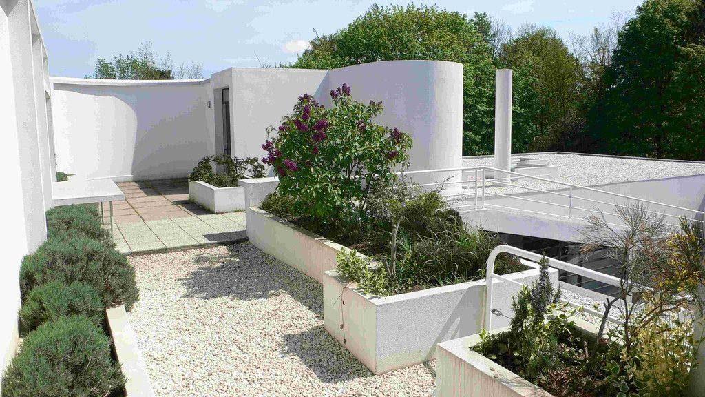 Vrt na strehi Ville Savoy